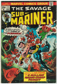 Sub Mariner #71 VG Front Cover