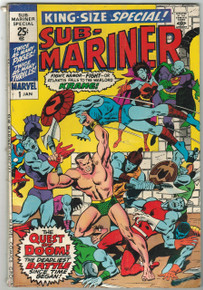 Sub Mariner King Size Special #1 VG Front Cover