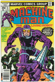 Machine Man #1 VF Front Cover
