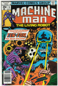 Machine Man #3 VF/NM Front Cover