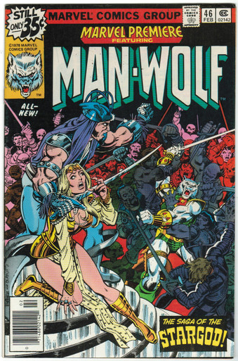 Marvel Premiere #46 VF Front Cover
