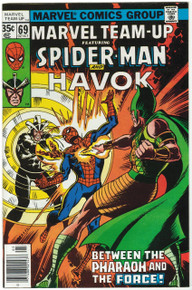Marvel Team Up #69 VF/NM Front Cover