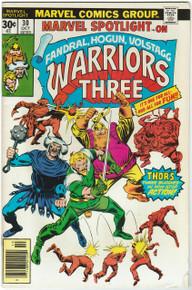 Marvel Spotlight #30 VG Front Cover