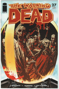 Walking Dead #27 VF/NM Front Cover