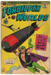 Forbidden Worlds #138 GD Front Cover
