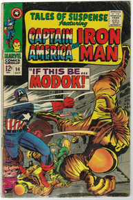 Tales of Suspense #94 GD Front Cover