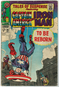 Tales of Suspense #96 GD Front Cover