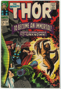 Thor #136 GD Front Cover