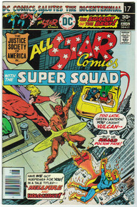 All Star Comics #61 VF Front Cover