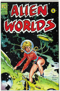 Alien Worlds #4 NM Front Cover