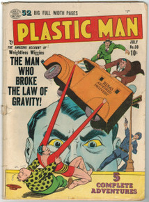 Plastic Man #30 GD Front Cover
