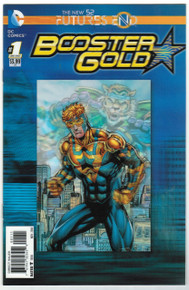 Futures End Booster Gold #1 NM Front Cover