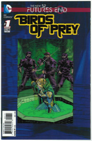 Futures End Birds of Prey #1 NM Front Cover