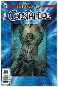 Futures End Constantine #1 NM Front Cover