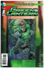 Futures End Green Lantern #1 NM Front Cover