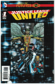 Futures End Justice League United #1 NM Front Cover