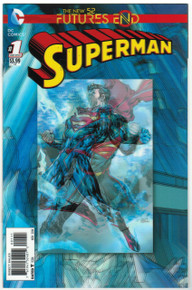 Futures End Superman #1 NM Front Cover