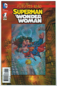 Futures End Superman/Wonder Woman #1 NM Front Cover