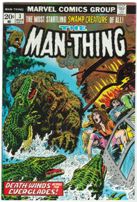 Man Thing #3 VF/NM Front Cover