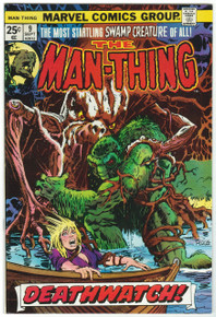 Man Thing #9 VF/NM Front Cover