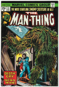 Man Thing #12 VF/NM Front Cover