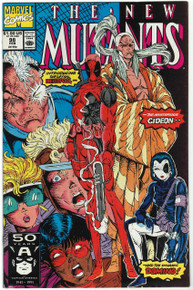 New Mutants #98 NM Front Cover
