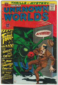 Unknown Worlds #55 FR Front Cover