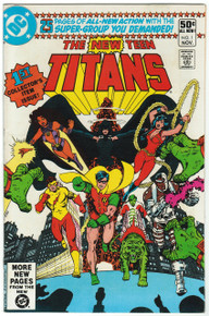 New Teen Titans #1 VF Front Cover