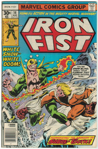 Iron Fist #14 VF Front Cover