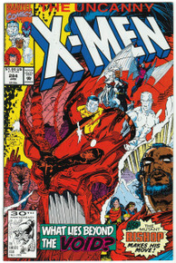Uncanny X-Men #284 NM Front Cover