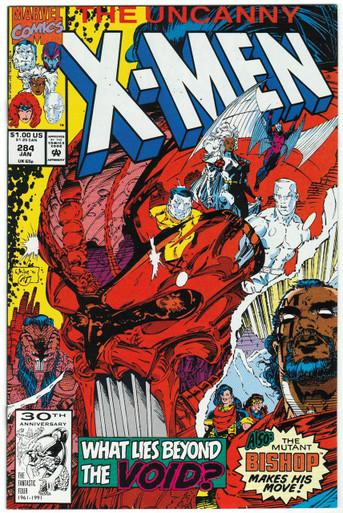 Uncanny X-Men #284 NM Front Cover