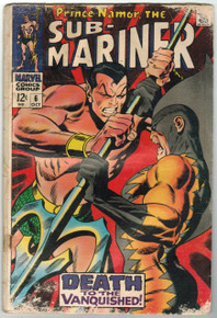Sub Mariner #6 FR Front Cover