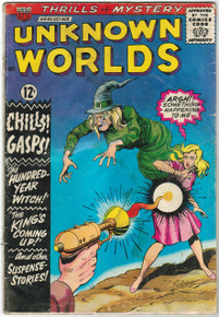 Unknown Worlds #43 GD Front Cover
