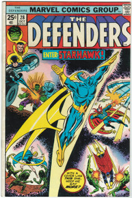Defenders #28 VF Front Cover