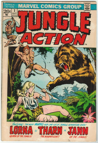 Jungle Action #1 VG Front Cover