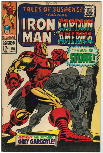 Tales of Suspense #95 VF Front Cover