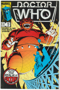 Doctor Who #16 VF Front Cover