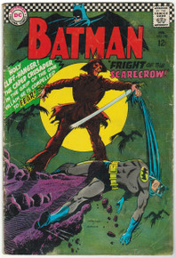 Batman #189 GD Front Cover