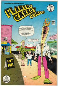 Flaming Carrot Comics #4 FN Front Cover