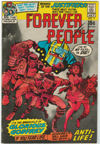 Forever People #3 FN Front Cover