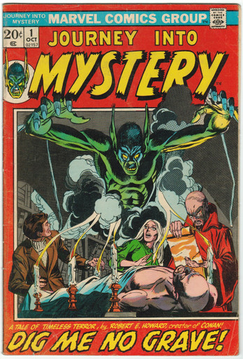 Journey Into Mystery #1 VG Front Cover