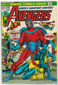 Avengers #110 VG Front Cover