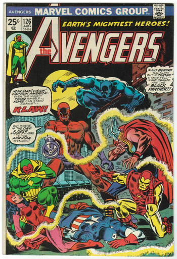 Avengers #126 VF Front Cover