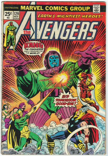 Avengers #129 GD Front Cover