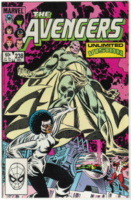 Avengers #238 VF/NM Front Cover