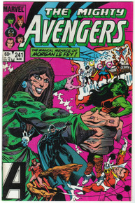 Avengers #241 VF/NM Front Cover