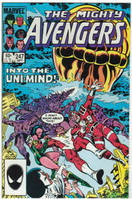Avengers #247 VF/NM Front Cover