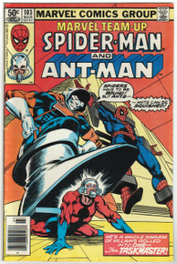 Marvel Team Up #103 FN Front Cover