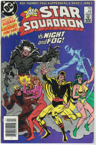 All Star Squadron #44 VF Front Cover