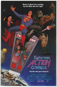 Action Comics #40 NM Movie Poster Variant Front Cover